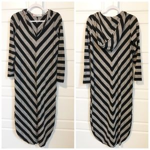 Free People Beach Hooded Cover Up Poncho Dress XS